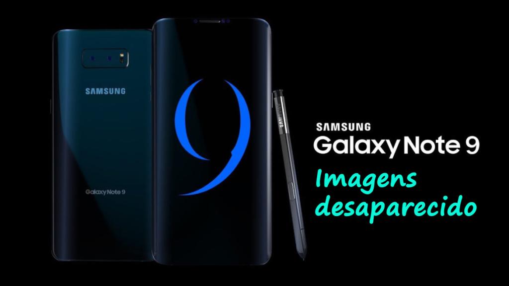 Fotos desaparecidas do Samsung Galaxy Note 9