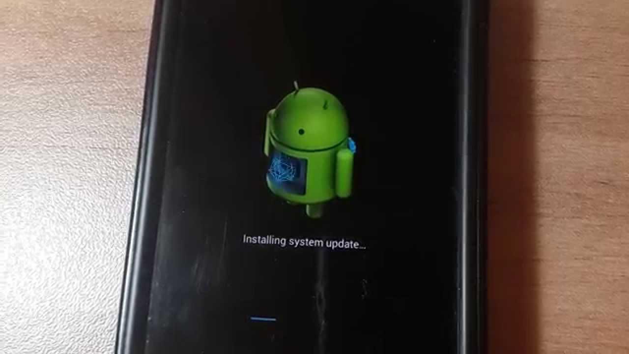 Atualização para Android Falha ao instalar
