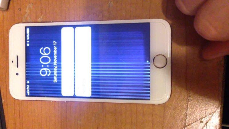 maneiras eficazes de corrigir linhas verticais no iPhone