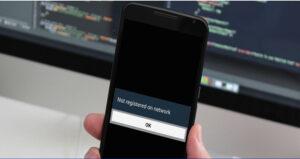 """11 maneiras de corrigir o erro """"Não registrado na rede"""" no telefone Android / Samsung"""
