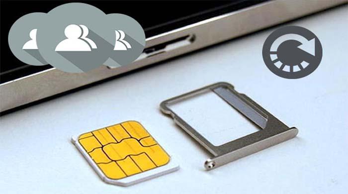recuperar contatos excluídos do cartão SIM Android